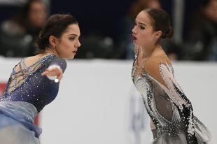 Евгения Медведева и Алина Загитова.
