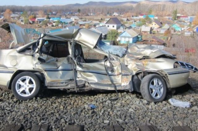 В результате ДТП водитель автомобиля получил травмы и был доставлен в городскую больницу Кувандыка.