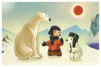 Главным персонажем ледового городка в Надыме станет медвежонок Умка