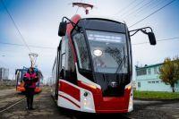 Трамвайный вагон модели 71-911ЕМ после технического осмотра планируют запустить по маршруту №11у «ост. Школа №107 - микрорайон Висим»