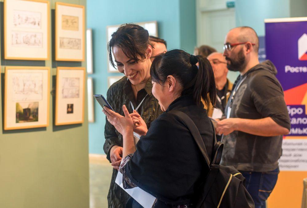 Музей им. Ф. Коваленко. В день открытия международного фестиваля фотографии PhotoVisa-2018.