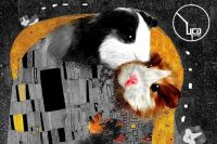 На афише спектакля хомячки изображены не зря. Милого грызуна Чипи рисует один из героев постановки.