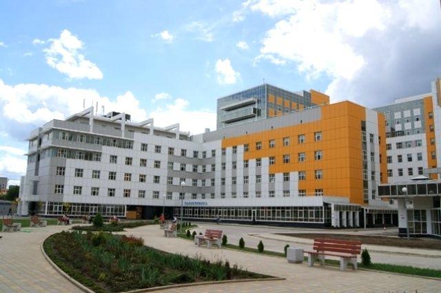 НИИ ККБ №1 в Краснодаре, где на данный момент остаются девять пострадавших при трагедии в керченском колледже.