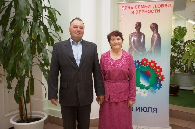 Зеленины на вручении премии «Семья года».