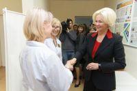 Глава минздрава высоко оценила поликлинику Новосибирска.