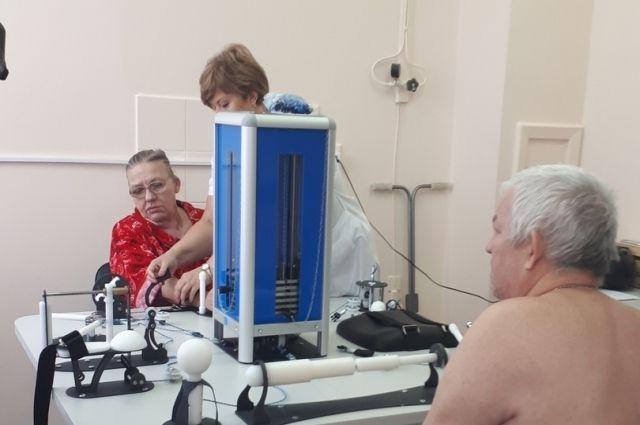 В Ноябрьске открылось первое в округе отделение медицинской реабилитации