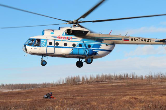 Ямальца, который почти две недели бродил в тундре, искали с вертолета