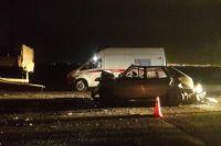 Удар был настолько сильным, что водитель «девятки» моментально погиб на месте.