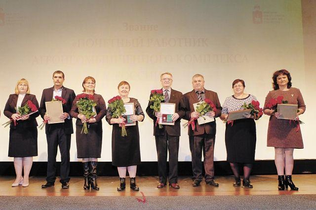 Награды Министерства сельского хозяйства РФ получили труженики села из разных территорий.