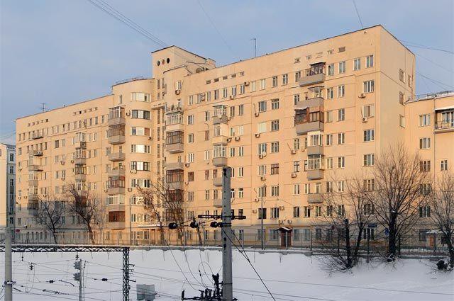 Жилой дом рабочего товарищества Обрабстроя.