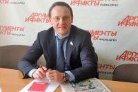 "Александр Сидякин в редакции ""АиФ-Казань""."