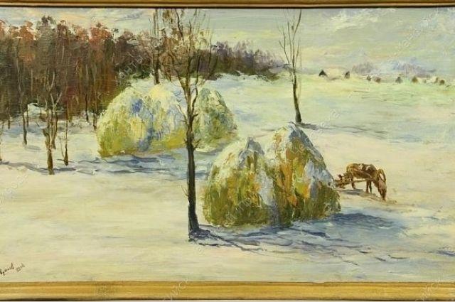 Гаврилов Владимир Витальевич. Снежная зима