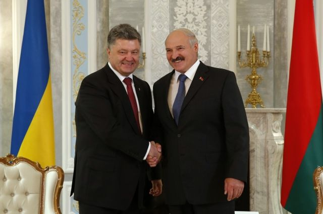Порошенко встретится с Лукашенко.