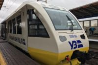 Гройсман испытал поезд в аэропорт Борисполь.