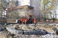 На вторую очередь реконструкции парка было запланировано 45 миллионов рублей.