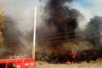 Пожар удалось локализовать через 44 минуты.