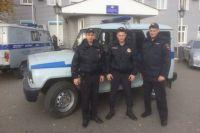 Полицейский в Бузулуке спасли на пожаре человека.