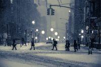 В Сибири зима суровая.