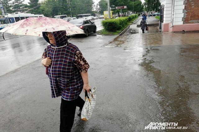 Днём 26 октября местами ещё пройдут дожди.