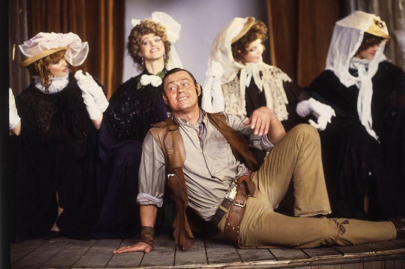 Николай Караченцов на сцене, 1986 год.