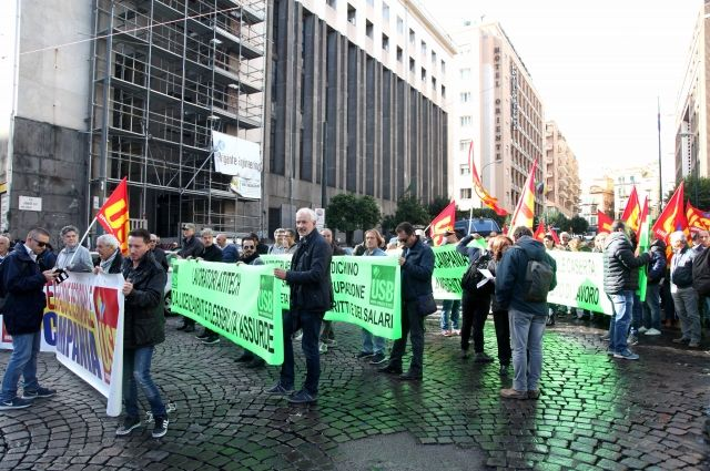 работники транспорта бастуют в Милане, архивное фото