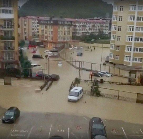 Улицы в Сочи.