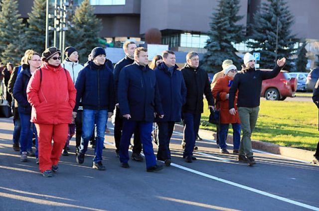 По мнению главы, теперь у Красноярска – по-настоящему столичная набережная.