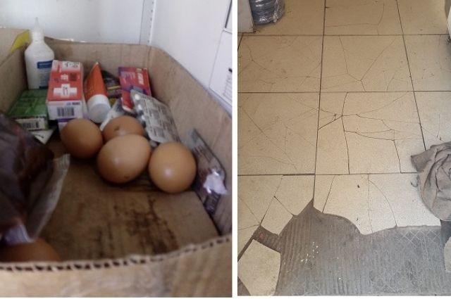 В ростовских общепитах яйца хранят с лекарствами, а в помещениях царит антисанитария.