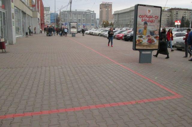 На красной линии расположено 12 достопримечательностей.