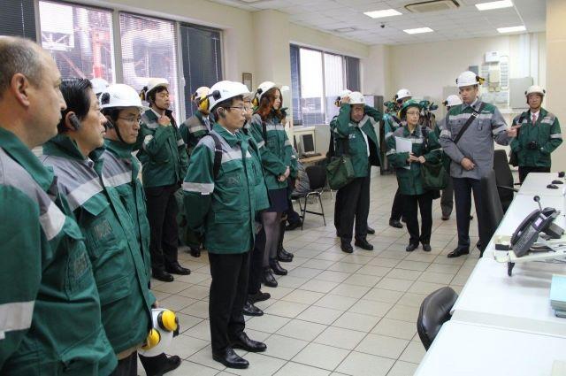 Специалисты из страны восходящего солнца посетили пермское предприятие.