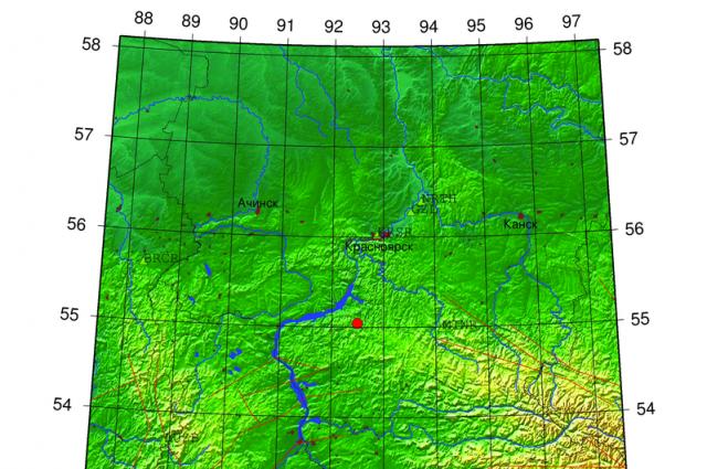 Эпицентр землетрясения зафиксирован в 110 км на юг от краевого центра.