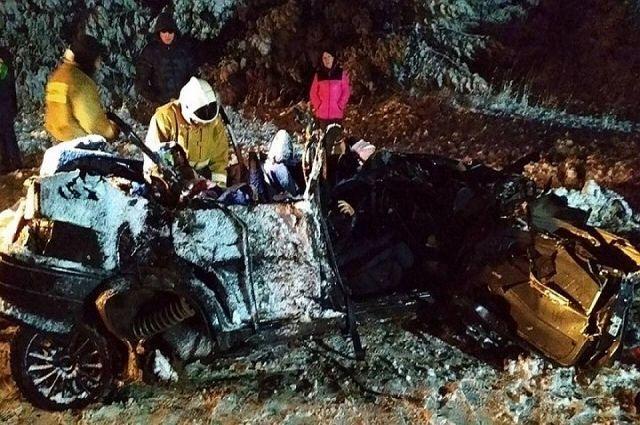 Погибшие проживали в Алнашском районе Удмуртии.