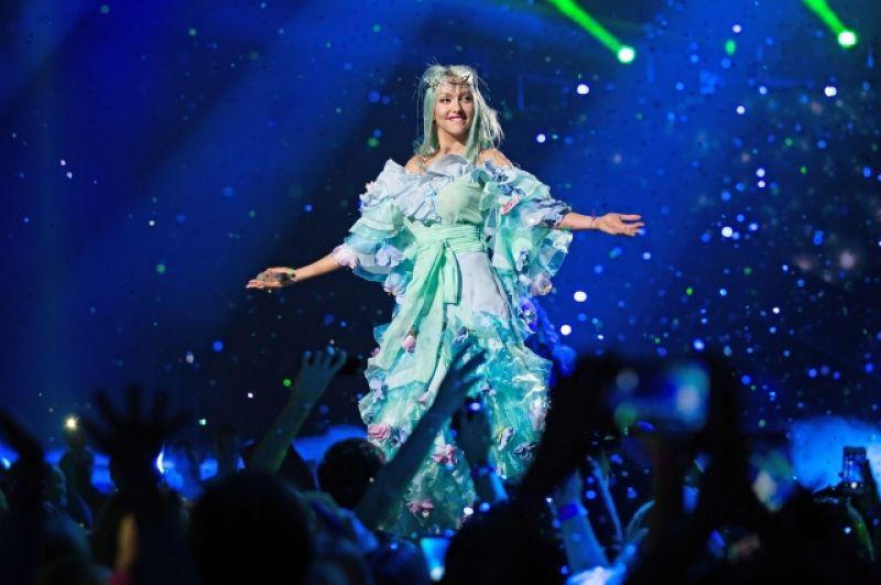 Гранд-шоу покорило соц. сети. Практически все поклонники певицы сошлись во мнении, что «Королева ночи» — это шоу мирового уровня.