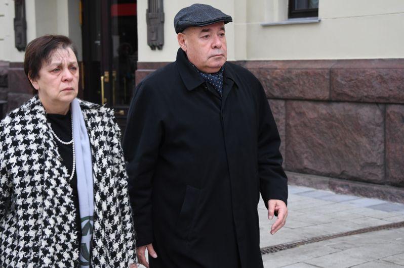 Специальный представитель президента РФ по международному культурному сотрудничеству Михаил Швыдкой с супругой Мариной.