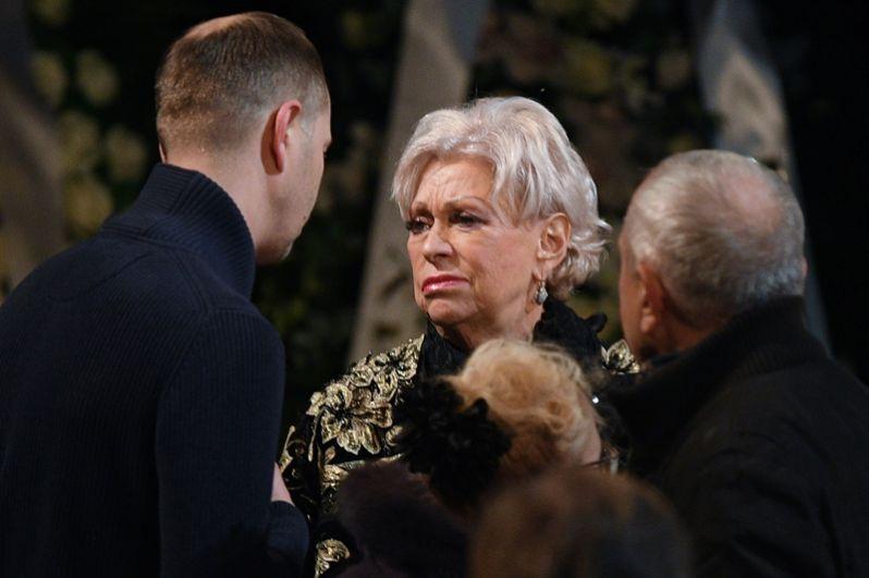 Вдова Николая Караченцова Людмила Поргина.