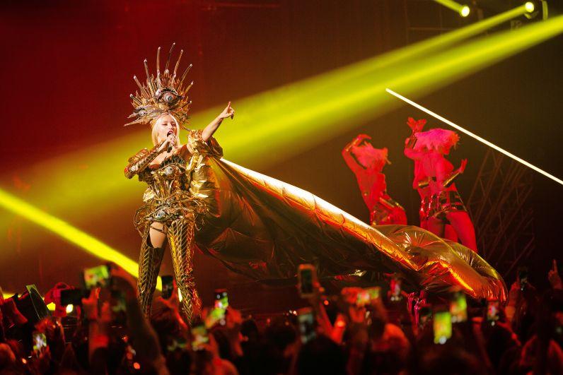 В начале 2019 года Суперблондинка готовится повторить шоу во Дворце спорта, а затем отправится с ним во всеукраинский тур.