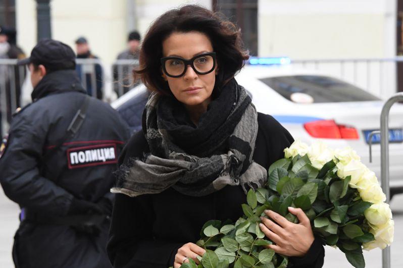 Актриса Евгения Крюкова.