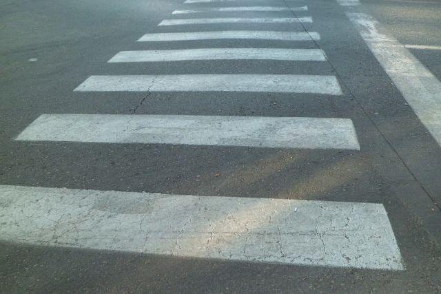 В Оренбурге водитель «ВАЗа» сбил женщину на пешеходном переходе.