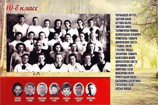Рена Александровна 4-я слева в самом нижнем ряду