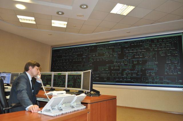 Оператор отслеживает состояние подстанций в режиме онлайн.