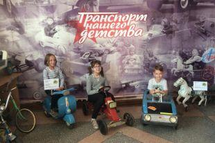 Современным детям советский транспорт интересен не меньше, чем их родителям.