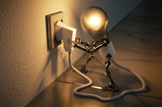 В связи с долгами свет могут отключить.