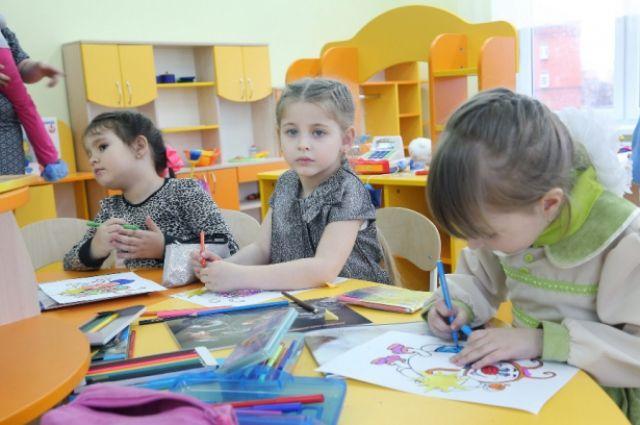 В регионе создадут 782 дополнительных места в садах для детей до 3 лет.