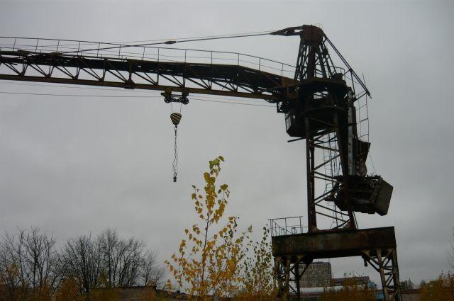 В Калининграде разбился рабочий башенного крана.