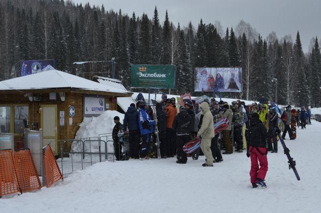 Новый горнолыжный сезон в Шерегеше стартует 17 ноября.