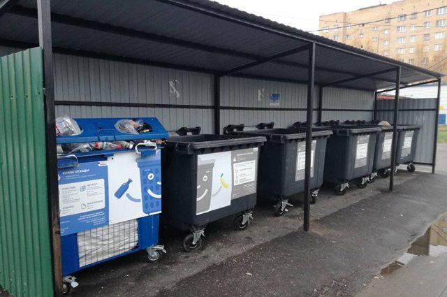 В новом году такие контейнеры появятся во всех дворах.