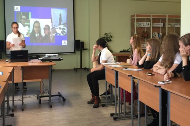 В Салехарде состоялось заседание клуба юных дипломатов