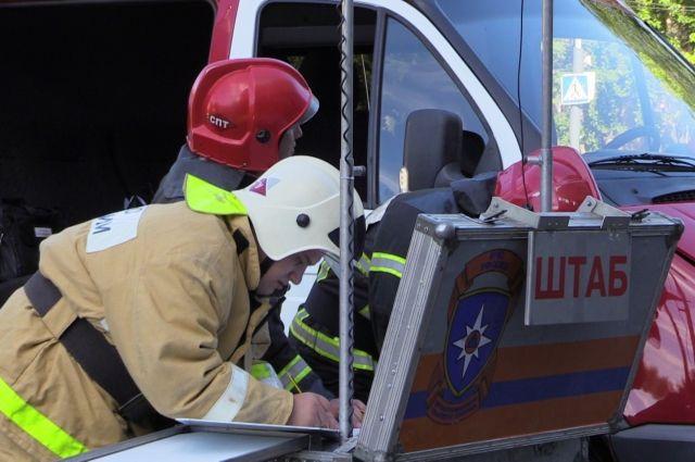 Два человека пострадали вовремя крупного пожара нанефтебазе вХМАО