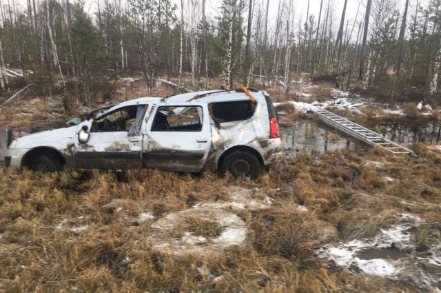 В ДТП на трассе Тюмень – Ханты-Мансийск пострадали двое детей