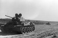 Букринский плацдарм. На правом берегу Днепра. 28 октября 1943 г.
